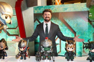 "HOLLYWOOD, CA - OCTOBER 10: Actor Karl Urban at The World Premiere of Marvel Studios' ""Thor: Ragnarok"" at the El Capitan Theatre on October 10, 2017 in Hollywood, California. (Photo by Rich Polk/Getty Images for Disney) *** Local Caption *** Karl Urban"