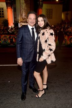 "HOLLYWOOD, CA - OCTOBER 10: Executive producer Louis D'Esposito (L) and daughter at The World Premiere of Marvel Studios' ""Thor: Ragnarok"" at the El Capitan Theatre on October 10, 2017 in Hollywood, California. (Photo by Alberto E. Rodriguez/Getty Images for Disney) *** Local Caption *** Louis D'Esposito"