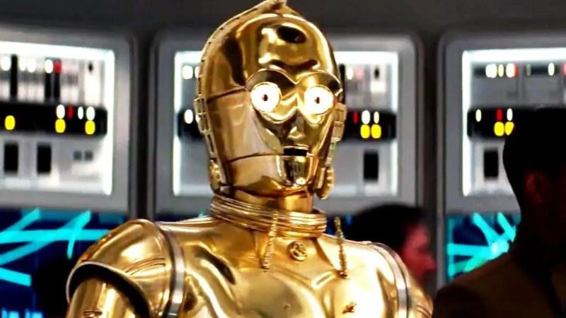 Star Wars The Last Jedi International Trailer - C-3P0