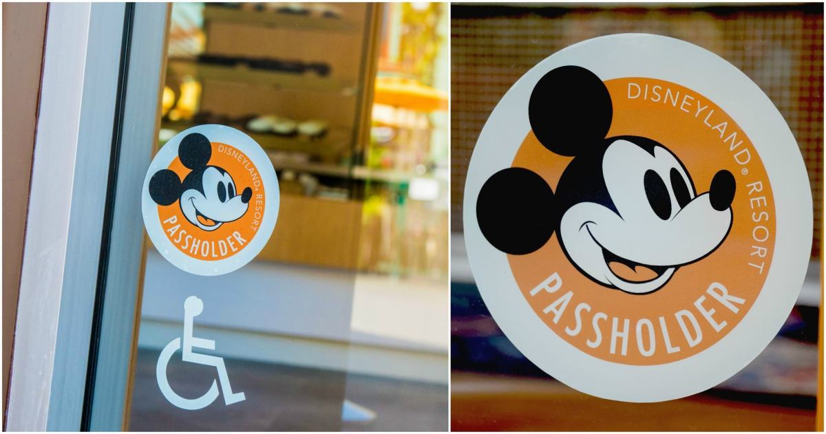 New Logo For Annual Passholder Discounts Coming To Windows In Downtown Disney District