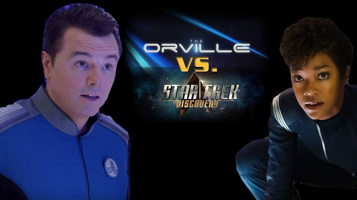 Orville Vs. Discovery - Which is More Star Trek?