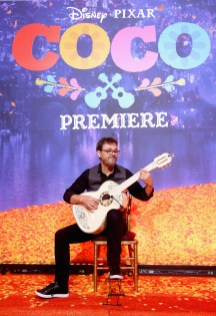 "HOLLYWOOD, CA - NOVEMBER 08: Guitarist Federico Ramos at the U.S. Premiere of Disney-Pixarís ""Coco"" at the El Capitan Theatre on November 8, 2017, in Hollywood, California. (Photo by Jesse Grant/Getty Images for Disney) *** Local Caption *** Federico Ramos"