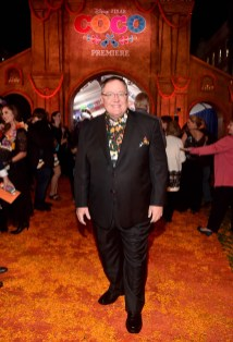 "HOLLYWOOD, CA - NOVEMBER 08: Executive producer John Lasseter at the U.S. Premiere of Disney-Pixarís ""Coco"" at the El Capitan Theatre on November 8, 2017, in Hollywood, California. (Photo by Alberto E. Rodriguez/Getty Images for Disney) *** Local Caption *** John Lasseter"