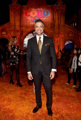 "HOLLYWOOD, CA - NOVEMBER 08: Actor Jaime Camil at the U.S. Premiere of Disney-Pixarís ""Coco"" at the El Capitan Theatre on November 8, 2017, in Hollywood, California. (Photo by Alberto E. Rodriguez/Getty Images for Disney) *** Local Caption *** Jaime Camil"