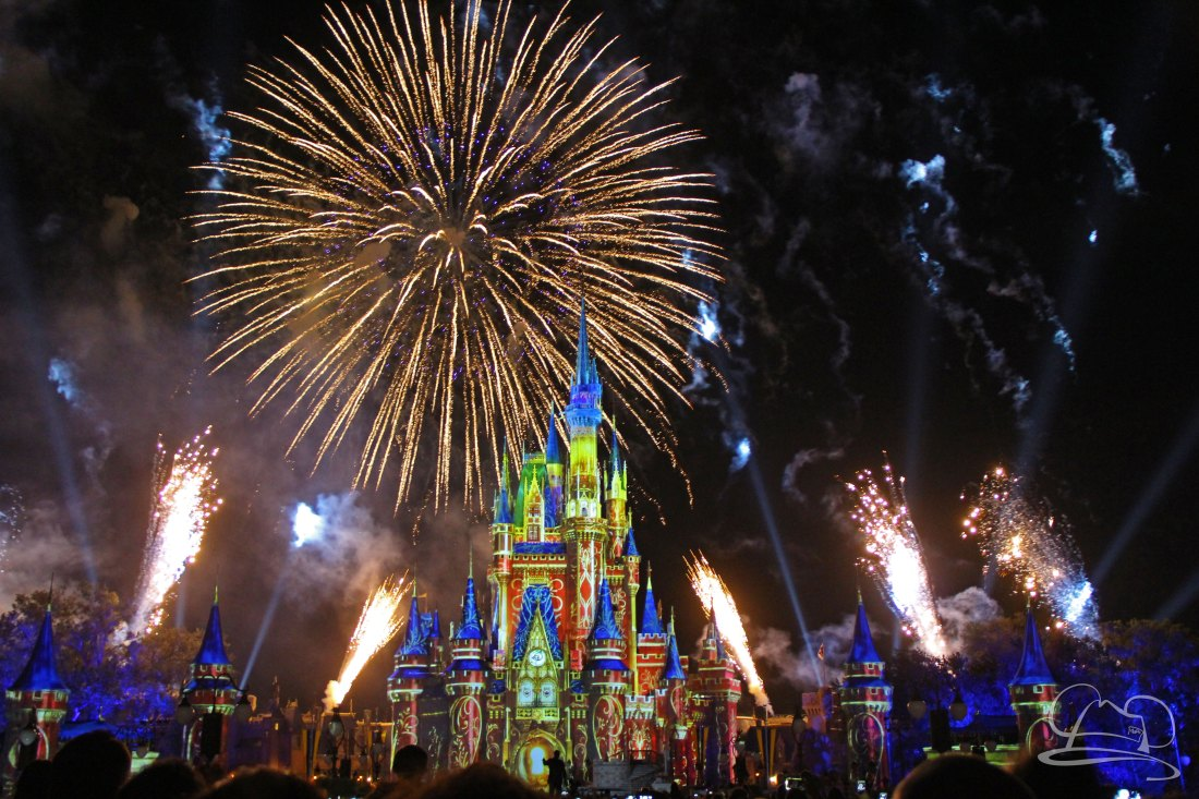 Happily Ever After Fireworks at the Magic Kingdom in the Walt Disney World Resort