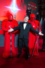 LONDON, UK DECEMBER 12: Mark Hamill attends the European Premiere of Star Wars: The Last Jedi in the presence of HRH Duke of Cambridge and HRH Prince Harry at the Royal Albert Hall in London, UK on Tuesday 12th December 2017. *** Local Caption *** Mark Hamill