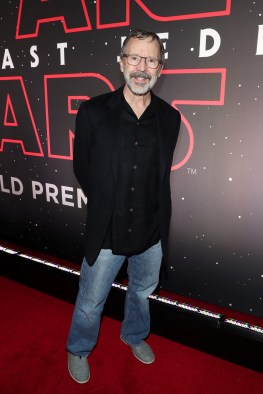 LOS ANGELES, CA - DECEMBER 09: President of Pixar Edwin Catmull at Star Wars: The Last Jedi Premiere at The Shrine Auditorium on December 9, 2017 in Los Angeles, California. (Photo by Rich Polk/Getty Images for Disney) *** Local Caption *** Edwin Catmull