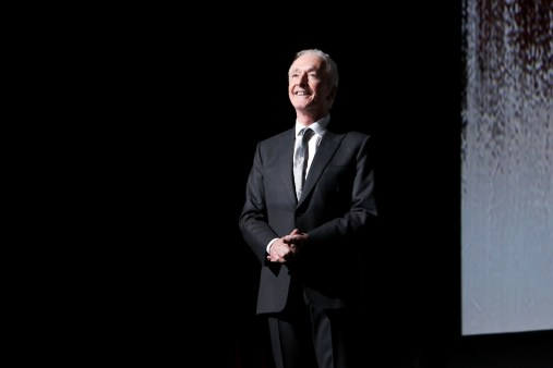 LOS ANGELES, CA - DECEMBER 09: Actor Anthony Daniels at Star Wars: The Last Jedi Premiere at The Shrine Auditorium on December 9, 2017 in Los Angeles, California. (Photo by Jesse Grant/Getty Images for Disney) *** Local Caption *** Anthony Daniels
