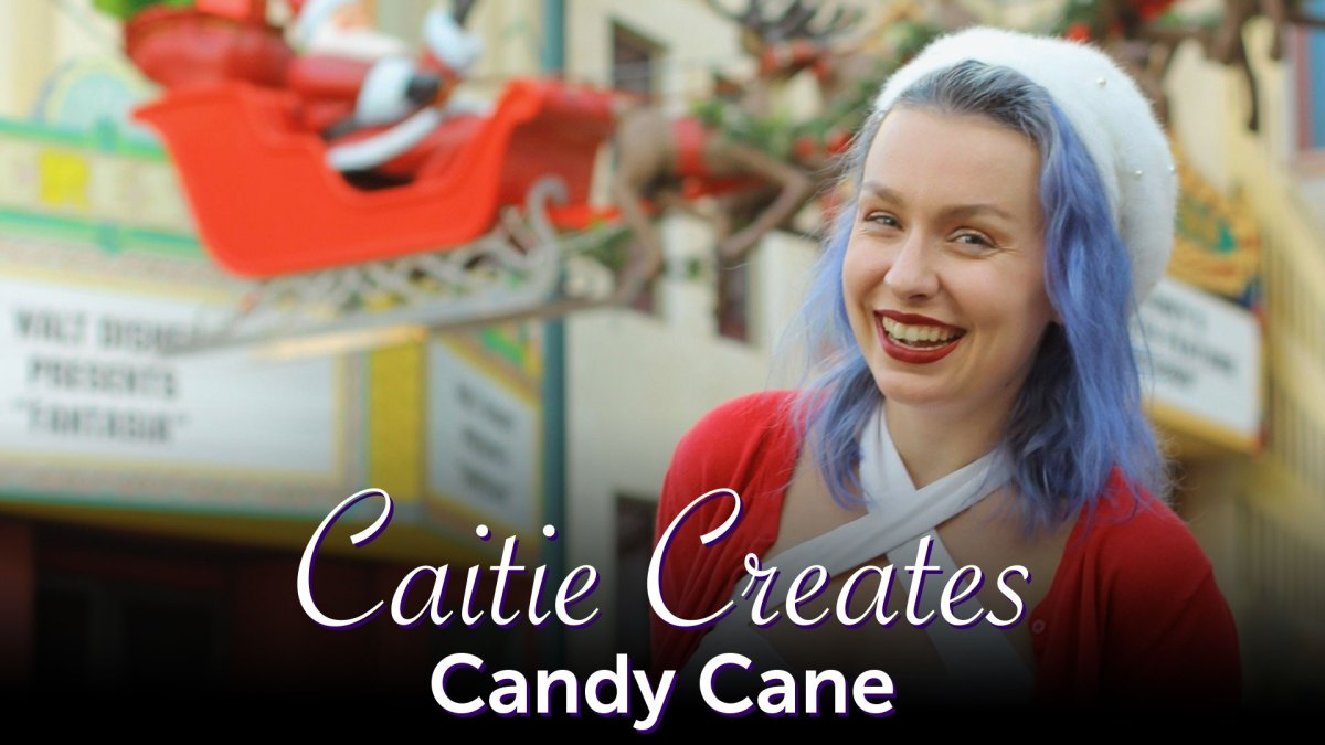 Candy Cane Inspired Vintage - Caitie Creates