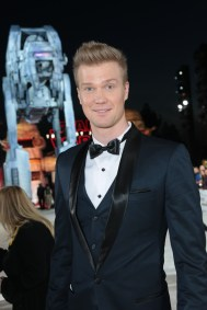 Joonas Suotamo arrives on the red carpet for the world premiere of LucasfilmÕs Star Wars: The Last Jedi at the Shrine Auditorium in Los Angeles, December 9, 2017..(Photo: Alex J. Berliner / ABImages )