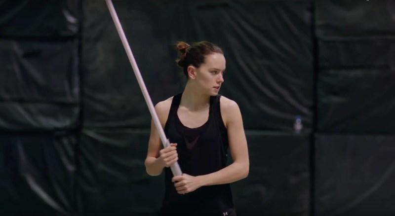 Star Wars: The Last Jedi - Daisy Ridley - Training Day