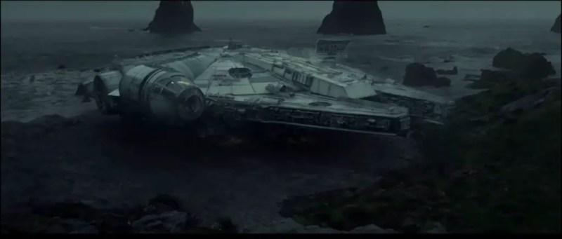 Millennium Falcon - Star Wars: The Last Jedi