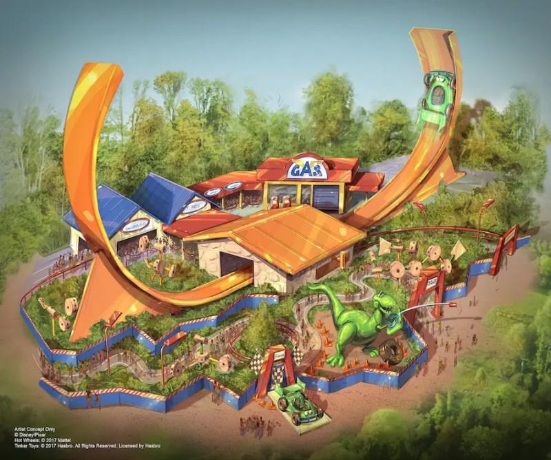 Rex's Racers - Toy Story Land - Shanghai Disneyland