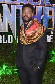 HOLLYWOOD, CA - JANUARY 29: Director Ryan Coogler at the Los Angeles World Premiere of Marvel Studios' BLACK PANTHER at Dolby Theatre on January 29, 2018 in Hollywood, California. (Photo by Alberto E. Rodriguez/Getty Images for Disney) *** Local Caption *** Ryan Coogler
