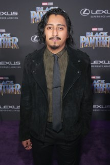 HOLLYWOOD, CA - JANUARY 29: Actor Tony Revolori at the Los Angeles World Premiere of Marvel Studios' BLACK PANTHER at Dolby Theatre on January 29, 2018 in Hollywood, California. (Photo by Jesse Grant/Getty Images for Disney) *** Local Caption *** Tony Revolori