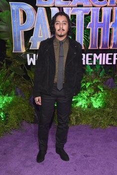 HOLLYWOOD, CA - JANUARY 29: Actor Tony Revolori at the Los Angeles World Premiere of Marvel Studios' BLACK PANTHER at Dolby Theatre on January 29, 2018 in Hollywood, California. (Photo by Alberto E. Rodriguez/Getty Images for Disney) *** Local Caption *** Tony Revolori