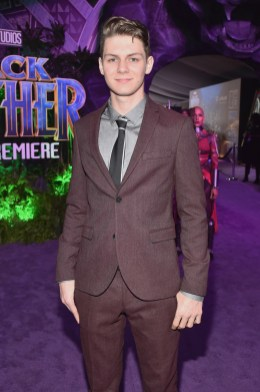 HOLLYWOOD, CA - JANUARY 29: Actor Ty Simpkins at the Los Angeles World Premiere of Marvel Studios' BLACK PANTHER at Dolby Theatre on January 29, 2018 in Hollywood, California. (Photo by Alberto E. Rodriguez/Getty Images for Disney) *** Local Caption *** Ty Simpkins