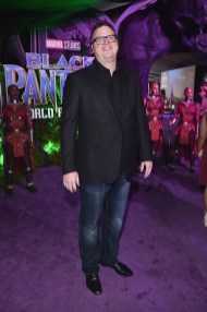 HOLLYWOOD, CA - JANUARY 29: Writer/producer Erik Oleson at the Los Angeles World Premiere of Marvel Studios' BLACK PANTHER at Dolby Theatre on January 29, 2018 in Hollywood, California. (Photo by Alberto E. Rodriguez/Getty Images for Disney) *** Local Caption *** Erik Oleson