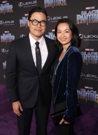 HOLLYWOOD, CA - JANUARY 29: Actor Randall Park and Jae Suh Park at the Los Angeles World Premiere of Marvel Studios' BLACK PANTHER at Dolby Theatre on January 29, 2018 in Hollywood, California. (Photo by Jesse Grant/Getty Images for Disney) *** Local Caption *** Randall Park; Jae Suh Park