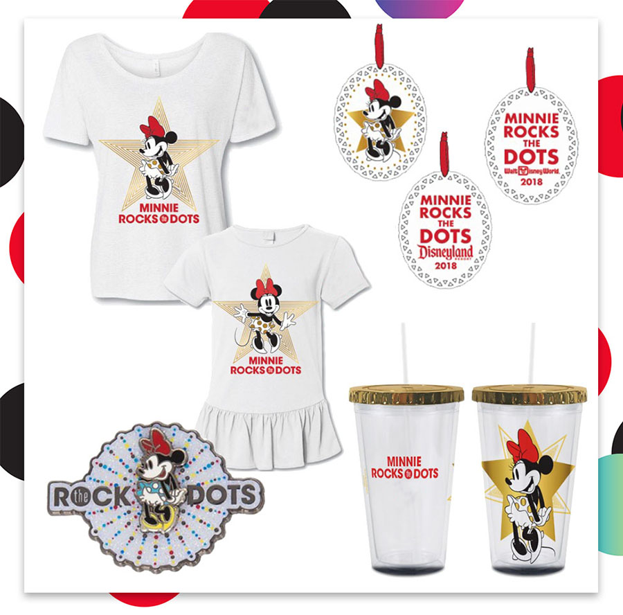Get Ready to #RocktheDots with New Minnie Mouse Merchandise
