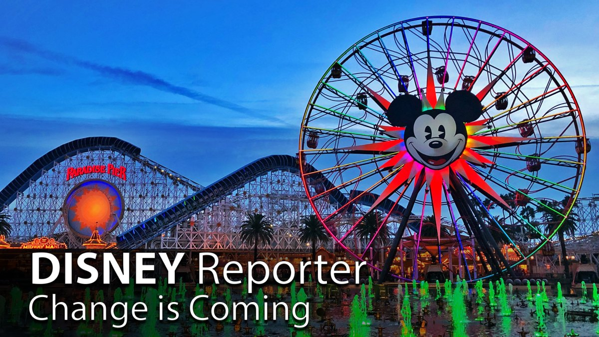 Change is Coming - DISNEY Reporter