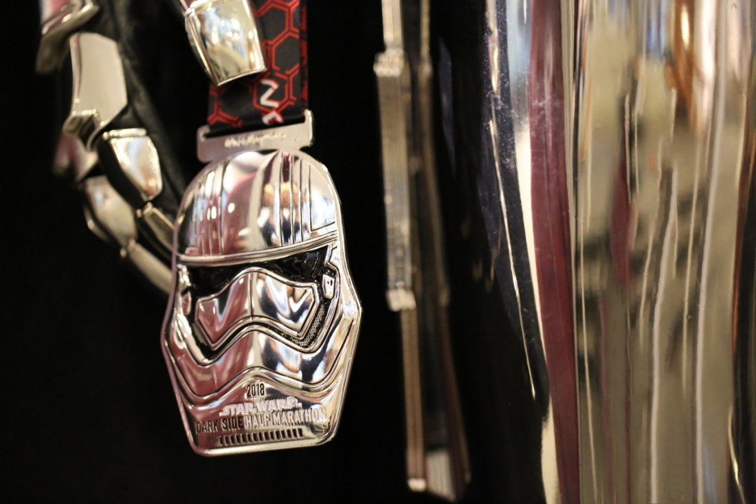 Captain Phasma – Half Marathon - runDisney's Star Wars Half Marathon – The Dark Side