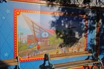 Wall of Change - Incredicoaster Wall in Disney California Adventure
