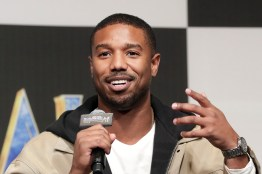 SEOUL, SOUTH KOREA - FEBRUARY 05: Actor Michael B. Jordan attends the press conference for the Seoul premiere of 'Black Panther' on February 5, 2018 in Seoul, South Korea. (Photo by Han Myung-Gu/Getty Images for Disney) *** Local Caption *** Michael B. Jordan