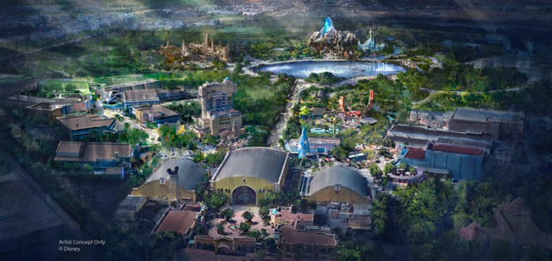 Disneyland Paris - Walt Disney Studios Expansion