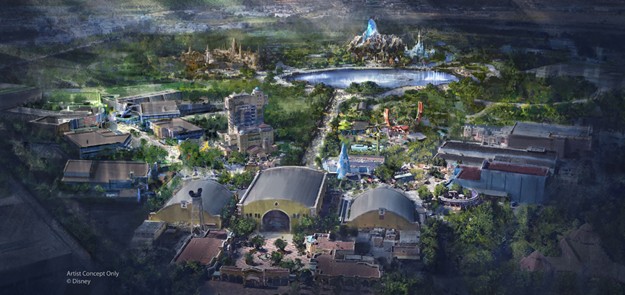 Disneyland Paris - Walt Disney Studios Expansion