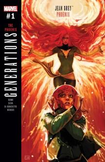 GENERATIONS PHOENIX & JEAN GREY (2017) #1