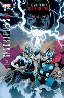 GENERATIONS THE UNWORTHY THOR & THE MIGHTY THOR (2017) #1