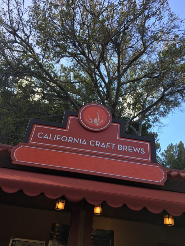 California Craft Brews Booth - 2018 Disney California Adventure Food and Wine Festival