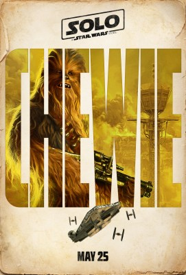 Solo: A Star Wars Story - Character Poster - Chewie
