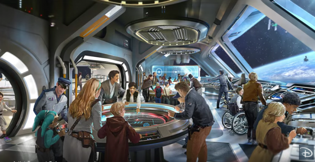 More Details of Star Wars Hotel at Walt Disney World Released