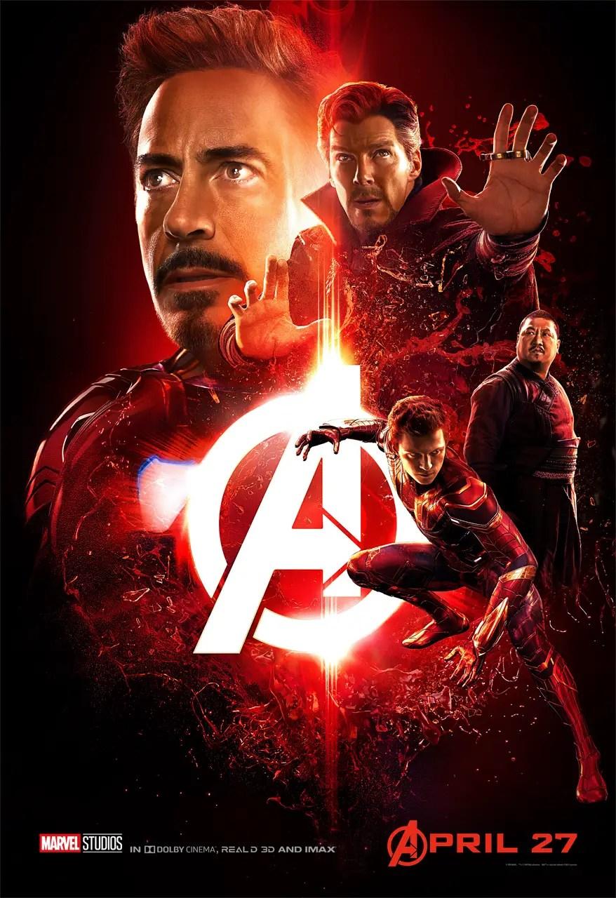 Avengers: Infinity War Team Iron Man Poster