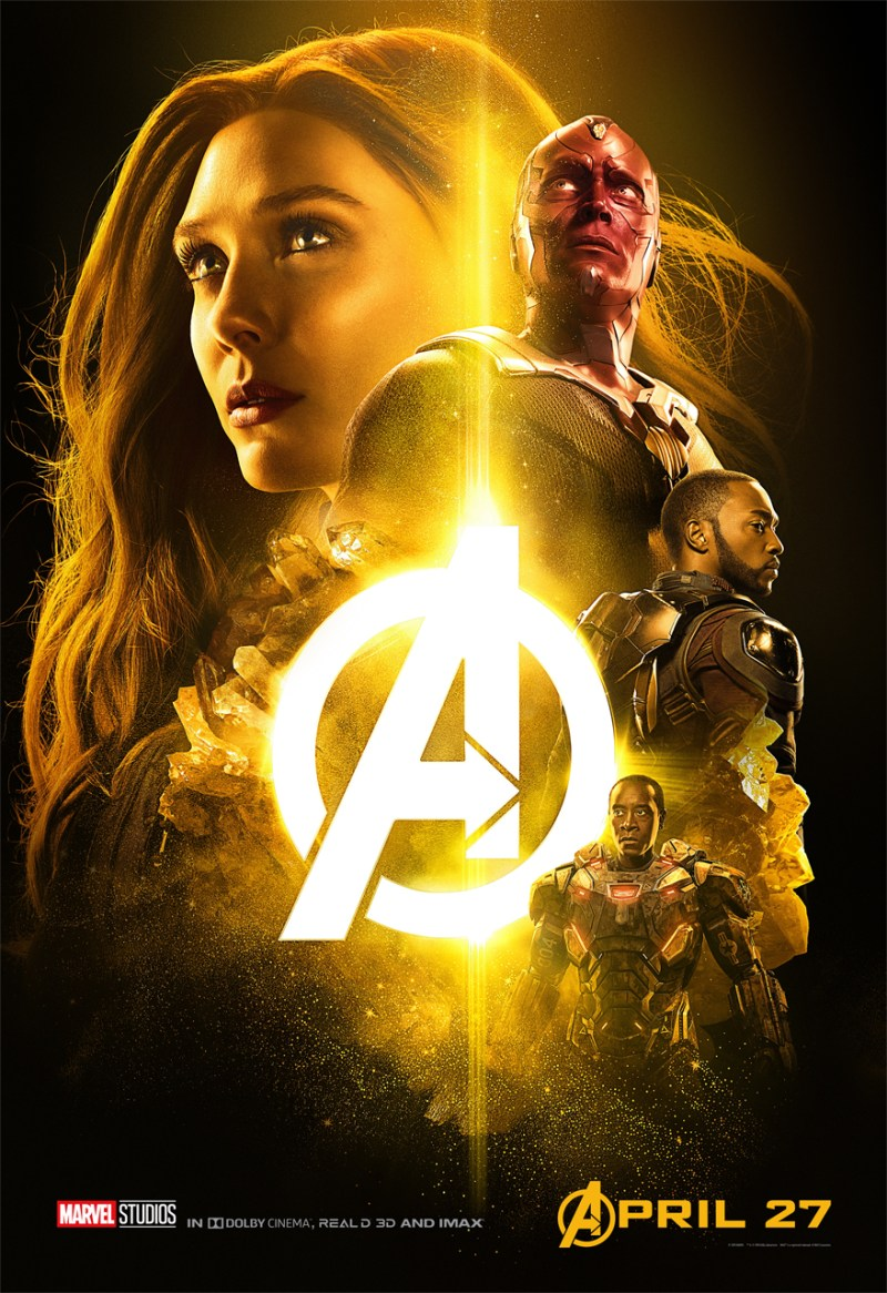 Avengers: Infinity War Team Scarlet Witch Poster