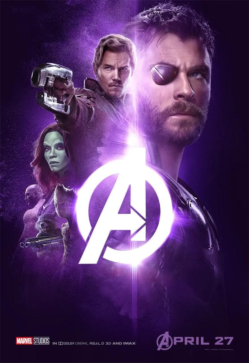 Avengers: Infinity War Team Thor Poster