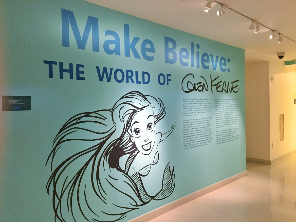Make Believe: The World of Glen Keane - A New Exhibit at The Walt Disney Family Museum