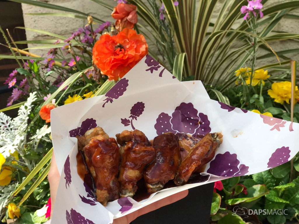 Knott's Berry Farm Boysenberry Festival - Boysenberry Chicken Wings