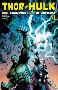 Thor Vs. Hulk_Champions of the Universe #1