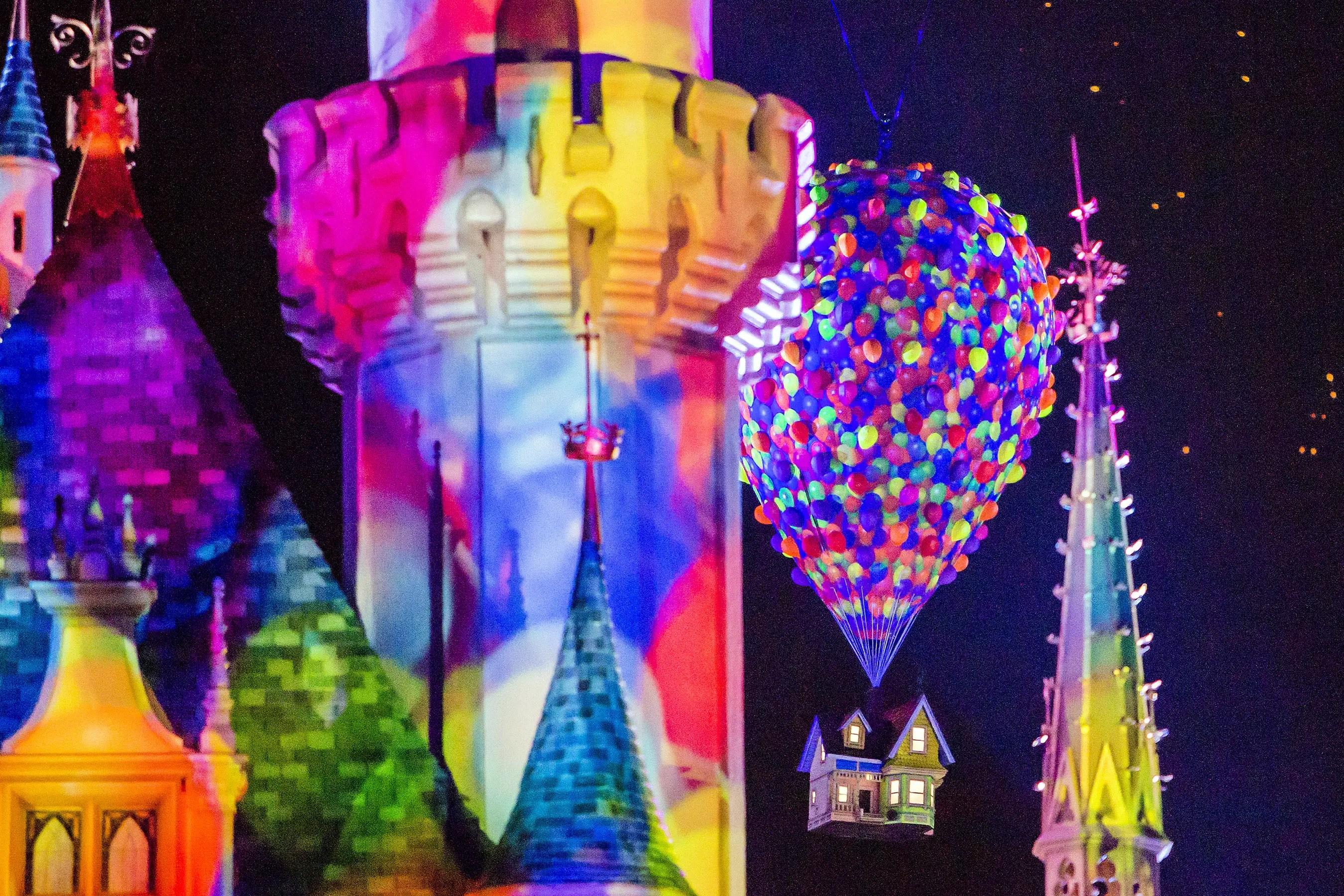 Resultado de imagem para Together Forever - A Pixar Nighttime Spectacular