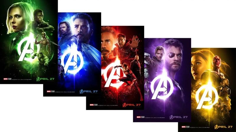 Marvel Studios Avengers: Infinity War Posters