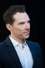LONDON, ENGLAND - APRIL 08: Benedict Cumberbatch attends the UK Fan Event to celebrate the release of Marvel Studios' 'Avengers: Infinity War' at The London Television Centre on April 8, 2018 in London, England. (Photo by Gareth Cattermole/Gareth Cattermole/Getty Images for Disney)