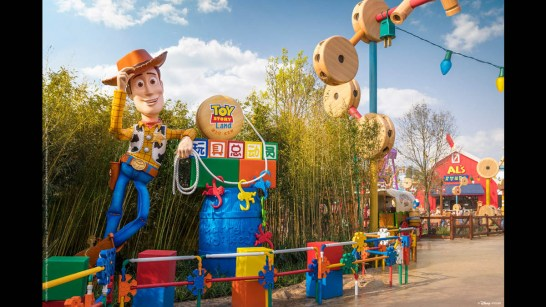 Disney Pixar Toy Story Land at Shanghai Disneyland-6