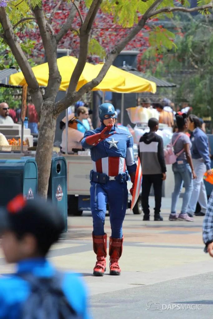 Captain America - Disney California Adventure
