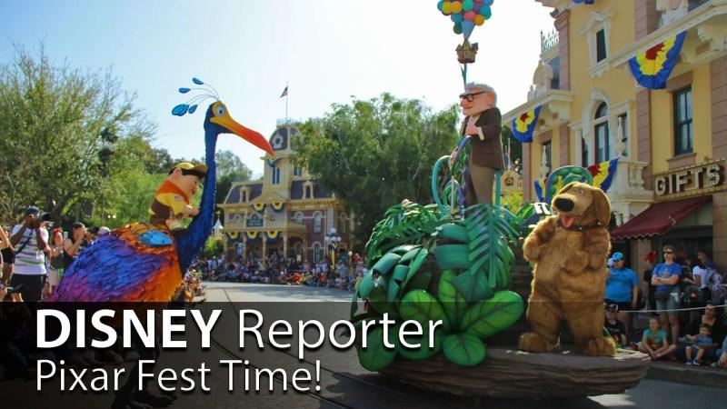 Pixar Fest Time! - DISNEY Reporter