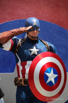 Captain America New Uniform at Disneyland-6