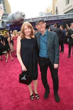 """Cheryl Howard and Ron Howard attend the world premiere of """"Solo: A Star Wars Story"""" in Hollywood on May 10, 2018. (Photo: Alex J. Berliner/ABImages)"""