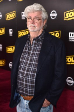 HOLLYWOOD, CA - MAY 10: George Lucas attends the world premiere of ìSolo: A Star Wars Storyî in Hollywood on May 10, 2018. (Photo by Alberto E. Rodriguez/Getty Images for Disney) *** Local Caption *** George Lucas